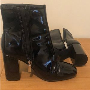 Urban outfitters black heeled shoes. Size 7